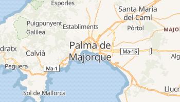 Carte en ligne de Palma de Majorque