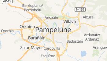 Carte en ligne de Pampelune