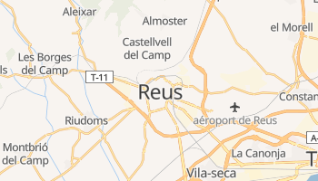 Carte en ligne de Reus
