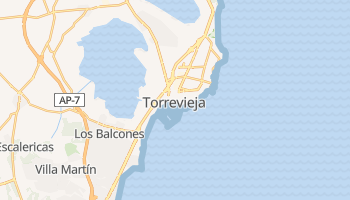 Carte en ligne de Torrevieja