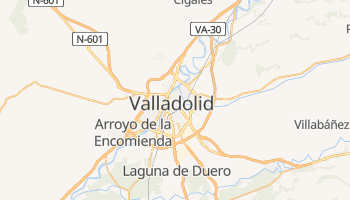 Carte en ligne de Valladolid
