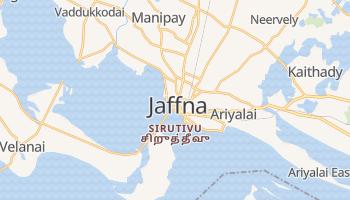 Carte en ligne de Jaffna
