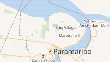 Carte en ligne de Paramaribo