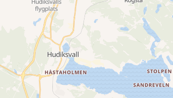 Carte en ligne de Hudiksvall