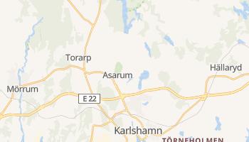 Carte en ligne de Karlshamn