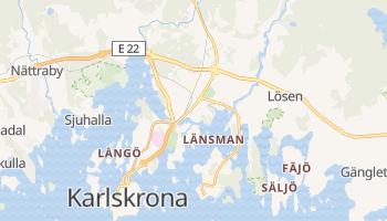 Carte en ligne de Karlskrona