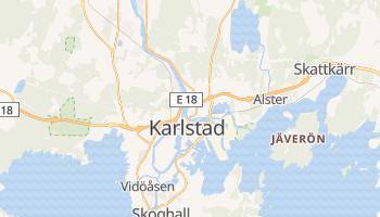 Carte en ligne de Karlstad