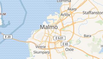 Carte en ligne de Malmö
