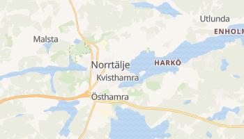 Carte en ligne de Norrtälje