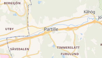 Carte en ligne de Commune de Partille