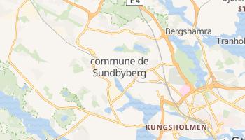 Carte en ligne de Commune de Sundbyberg