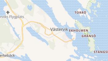 Carte en ligne de Västervik