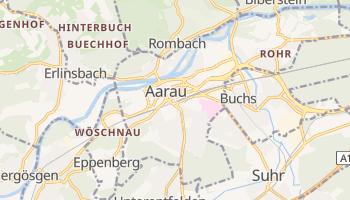 Carte en ligne de Aarau