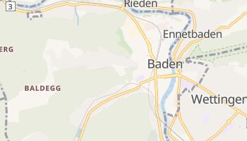 Carte en ligne de Pays de Bade