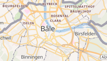 Carte en ligne de Bâle