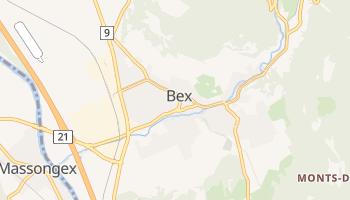 Carte en ligne de Bex
