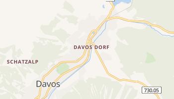 Carte en ligne de Davos
