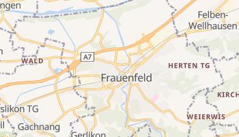 Carte en ligne de Frauenfeld