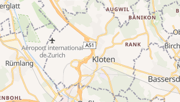 Carte en ligne de Kloten