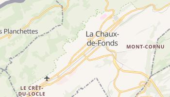 Carte en ligne de La Chaux-de-Fonds