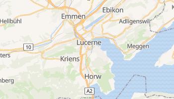 Carte en ligne de Lucerne