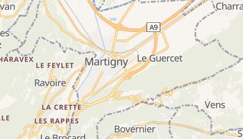 Carte en ligne de Martigny