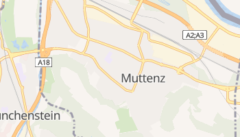 Carte en ligne de Muttenz