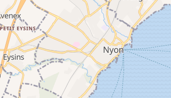Carte en ligne de Nyon