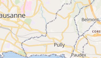 Carte en ligne de Pully