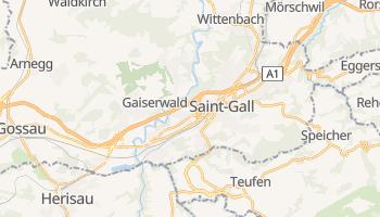 Carte en ligne de Saint-Gall