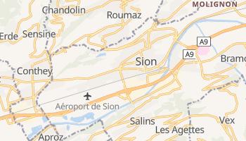 Carte en ligne de Sion
