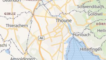 Carte en ligne de Thoune
