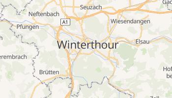 Carte en ligne de Winterthour