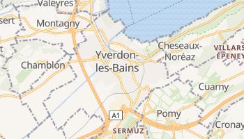 Carte en ligne de Yverdon-les-Bains
