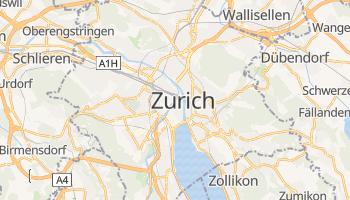 Carte en ligne de Zurich
