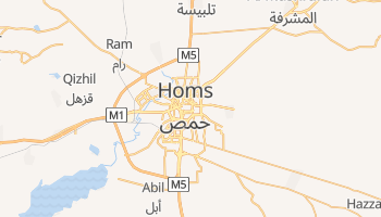 Carte en ligne de Homs