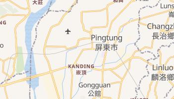 Carte en ligne de Pingtung