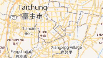 Carte en ligne de Taichung