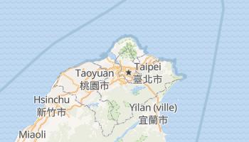 Carte en ligne de Taipei
