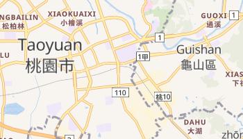 Carte en ligne de Taoyuan