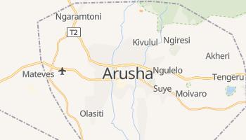 Carte en ligne de Arusha