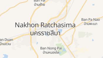Carte en ligne de Nakhon Ratchasima