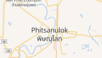 Carte en ligne de Phitsanulok