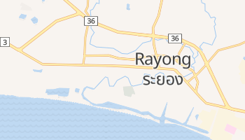 Carte en ligne de Rayong