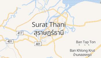 Carte en ligne de Surat Thani