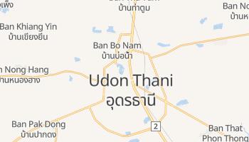 Carte en ligne de Udon Thani