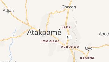 Carte en ligne de Atakpamé
