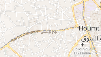 Carte en ligne de Djerba