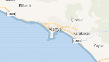 Carte en ligne de Alanya