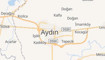Carte en ligne de Aydın